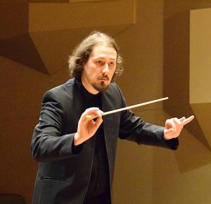 Boris Vayner conducting